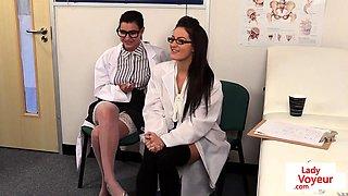 Gorgeous spex nurses humiliating patient