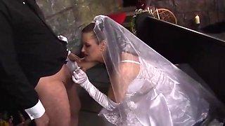 Bride needs comforting