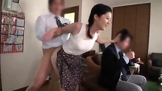Japan milf and 10 students with strong sexual desire - pt2 on hdmilfcam.com