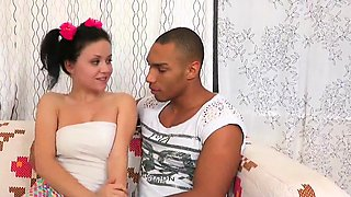 Doctor watches hymen examination and virgin nympho drilling3