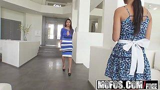 Mofos - Latina Sex Tapes - Alexa Tomas - Spicy Latina Maid Gets Banged