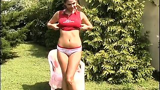 outdoor pool party teen gangbang.