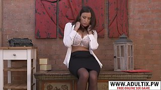Perfect step mommy sensual jane gets nailed hot teen step son
