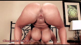 Mature Blonde takes BBC