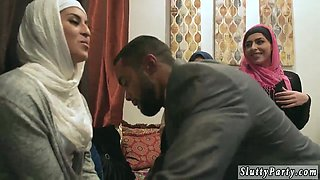 Brutal teen Hot arab dolls attempt foursome