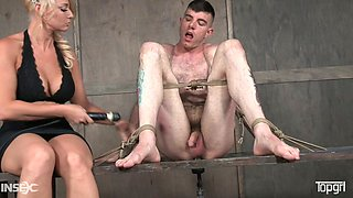 This perverted guy Artemis Faux loves being punished by his sexy mistress
