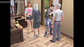 STP5 The Sims - Family Swingers !