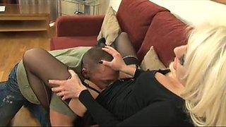 British Milf Whore Fucks Client See pt2 at goddessheels
