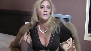mature mommy whore smoking tease