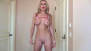 Blonde MILF JOI Makes you Cum Three Times FEMDOM