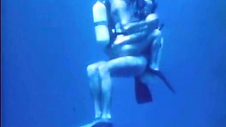 The underwater blowjob and cock riding of a freaky bitch