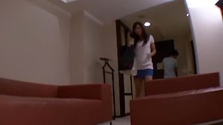 Hottest Japanese slut Miki Hasegawa in Best Masturbation, Small Tits JAV clip