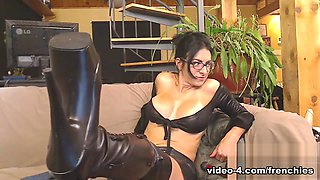 Livecam Mistress Bianca's Boot Worship Session - KinkyFrenchies