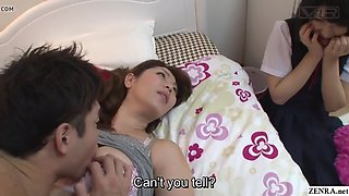 subtitled jav insane mother gives daughter sex ed lesson