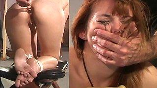Anal punishment bound