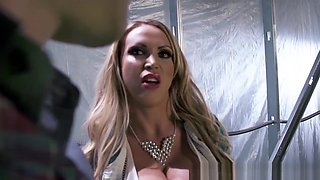 Brazzers - Big Tits At Work - Full Dis-clothe