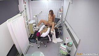 redhead susy gala is seduced by horny gynecologist