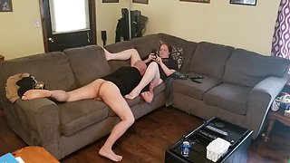 Older Man Eats Younger Pussy, and Gets Ignored (Pt.2)