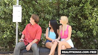RealityKings - We Live Together - Bus Stop Lu