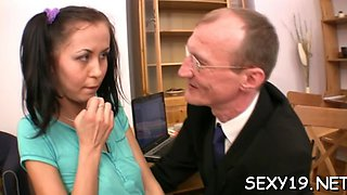 horny teacher devouring lass amateur film 3