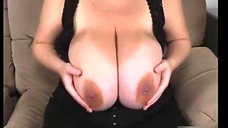 Huge tits milk