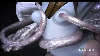 hot 3d animated alien hardcore sex