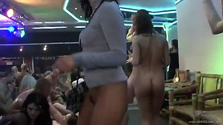 great party scene with kinky drunk babes and guys