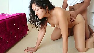 Young daughter forced to fuck dad against her will after getting caught sexting her boyfriend cruel punishment POV Indian