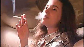 Rebecca smoking girl