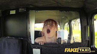 Fake taxi innocent teen takes big fat cock