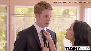 tushy bridesmaid has anal sex with sisters husband on weddin