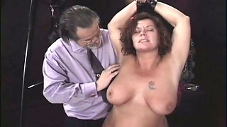 Big natural slutty whore takes some pleasurable punishment