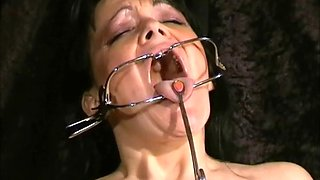face punished mature slave chinas sadomasochis dental gagged