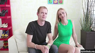 Afina is a tall, gorgeous blonde with a husband who bores her in
