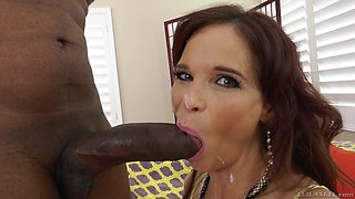 Syren De Mer is a horny cougar in need of a black boner