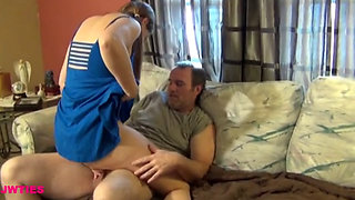 Sink Repair, Horny Redhead Daughter Creampied