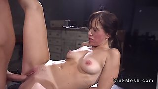 tied up beauty rough anal fucked