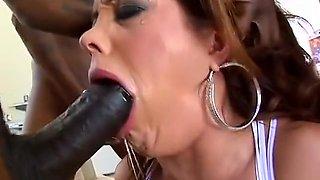 Amazing Interracial, Cunnilingus sex video