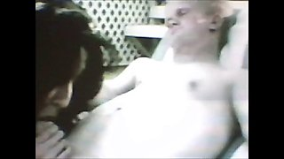Lucky circus midget fucks one girl and a BJ by another