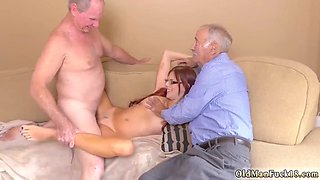 Brutal old man and sugar daddy xxx Frannkie And The Gang Take a Trip Down Under