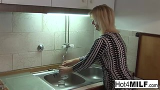 Fun Blonde Milf Fucks A Younger Guy - Hot4MILF