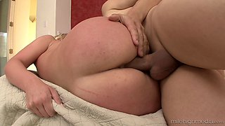 Steamy bath and dick riding with Tristyn Kennedy and Michael Stefano