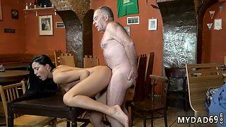 Classic old man and young anal xxx Can you trust your girlcrony leaving her alone with