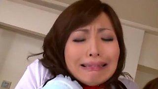 Incredible Japanese slut Miwako Yamamoto in Exotic Hardcore, Big Tits JAV scene