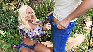 busty nikki cheats on her husband with their neighbor