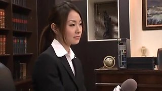 Best Japanese slut Akari Kobayashi in Crazy Secretary JAV scene