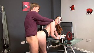 Pleasing kinky Lyen Parker is much easier with a long shaft