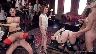 Nora Riley & Charlotte Cross & Seth Gamble in Innocent Girl Made Depraved Anal Slave - TheUpperFloor