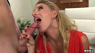 wankz- sexy squirting milf boss and her employee