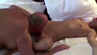 Young German Teen Seduce to Fuck by older Men in Hotel